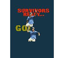 Survivors Ready... Go! Photographic Print