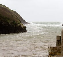 Port Quin in Cornwall by Keith Larby