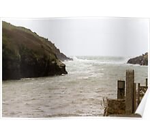 Port Quin in Cornwall Poster