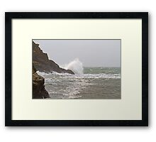 Port Quin in Cornwall Framed Print