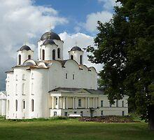 Saint Nicholas Cathedral in Veliky Novgorod, Russia by olegkuzmin