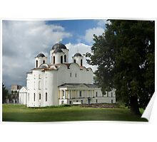 Saint Nicholas Cathedral in Veliky Novgorod, Russia Poster