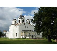 Saint Nicholas Cathedral in Veliky Novgorod, Russia Photographic Print