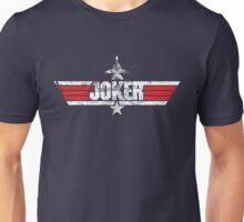 Custom Top Gun Style Style - Joker Unisex T-Shirt