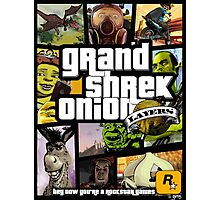 Grand Shrek Onion PRINTS Photographic Print