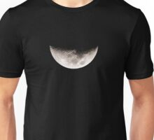 Almost Half Moon Setting Unisex T-Shirt