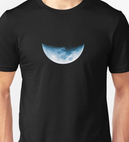 Almost Half Blue Moon Setting Unisex T-Shirt
