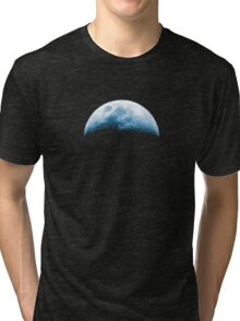 Almost Half Blue Moon Rising Tri-blend T-Shirt