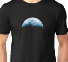 Almost Half Blue Moon Rising Unisex T-Shirt