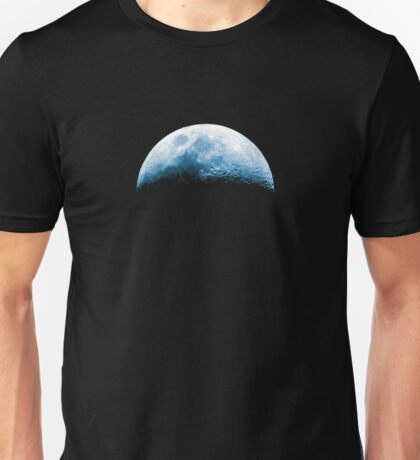 Almost Half Blue Moon Rising Unisex T-Shirt