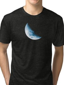 Almost Half Blue Moon 45 Tri-blend T-Shirt