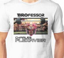 Flex-Men: Brofessor Charles Flexavier Unisex T-Shirt