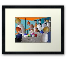 luncheon of the boating patry Framed Print