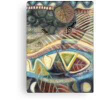 Tropical Fusions (Panel 3 of 4) Canvas Print