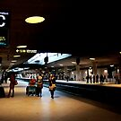 Lufthavnen Rail Station by rsangsterkelly