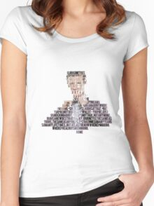 11th Doctor Home - 50th Anniversary Doctor Who Women's Fitted Scoop T-Shirt
