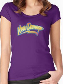 ND 80s Time Traveller (clean) Women's Fitted Scoop T-Shirt