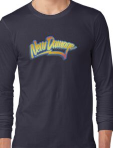 ND 80s Time Traveller (clean) Long Sleeve T-Shirt