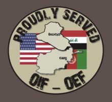 PROUDLY SERVED -OIF/OEF T-Shirt