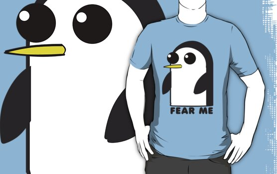 Gunter The Penguin - Fear Me by Thomas Cicily