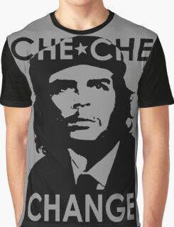 CHE CHE CHANGE: BLACK AND WHITE Graphic T-Shirt