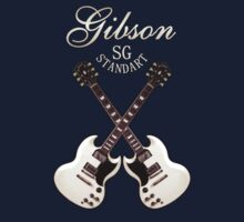 Amazing Gibson SG Standart  decoration Clothing & Stickers by goodmusic