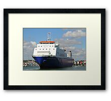Commodore Goodwill in Portsmouth Framed Print