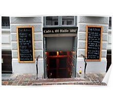 Cafe & Ol-Halle, Copenhagen  Poster