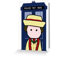 The 7th doctor Greeting Card