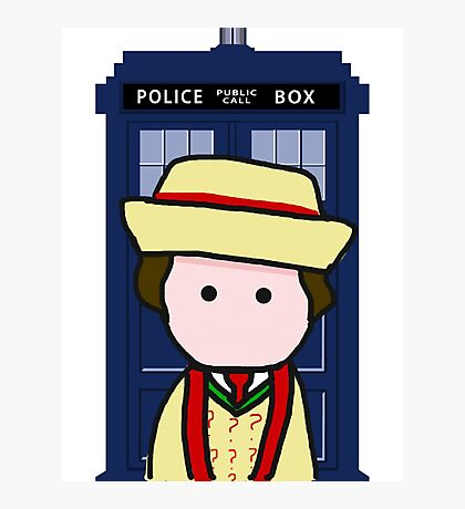 The 7th doctor Photographic Print