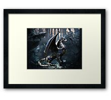 Dragons Of The Apocalypse Framed Print