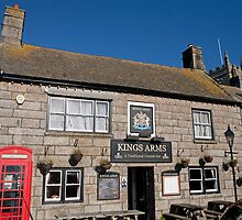 The Kings Arms in St Just Cornwall by Keith Larby