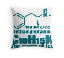 Methamphetamine Throw Pillow
