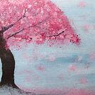 Cherry Blossom Tree by Emily Jane Dixon