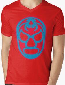 Luchador - Santo Misterio Mens V-Neck T-Shirt