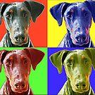 Dog PopArt by Nicole Zeug