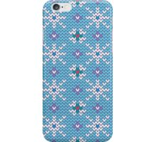 Knitted snowfall iPhone Case/Skin