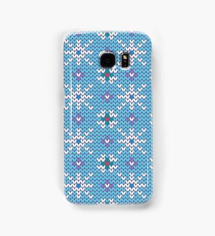 Knitted snowfall Samsung Galaxy Case/Skin