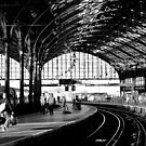Brighton Train Station by rsangsterkelly