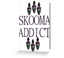 Skooma Greeting Card