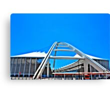 Moses Madhiba Stadium Canvas Print