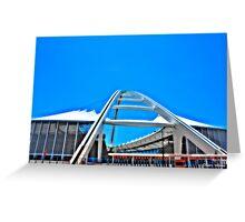 Moses Madhiba Stadium Greeting Card