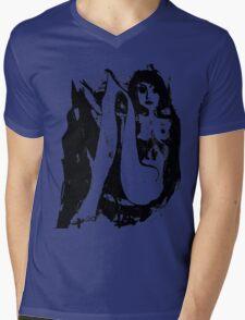 Girl 3 Mens V-Neck T-Shirt