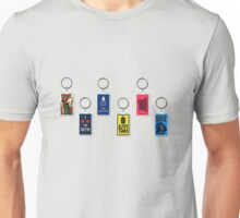 Doctor Who Key Rings Unisex T-Shirt