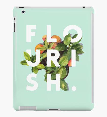 Flourish #redbubble #home #designer #tech #lifestyle #fashion #style iPad Case/Skin