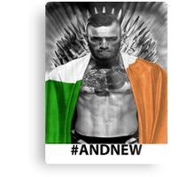 UFC Conor Mcgregor New Champion Metal Print