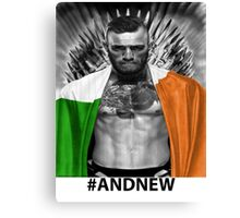 UFC Conor Mcgregor New Champion Canvas Print