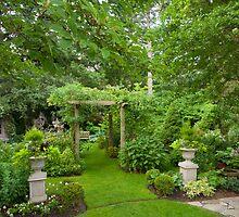 Blossom Garden Summer by Marilyn Cornwell