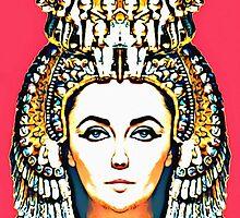 Elizabeth Taylor, alias in Cleopatra by Art Cinema Gallery