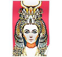 Elizabeth Taylor, alias in Cleopatra Poster